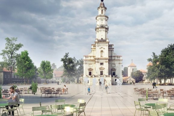 Slider kaunas old square renovation