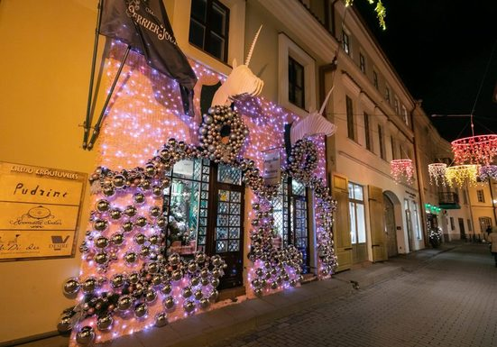 Slider vilnius christmas decorations