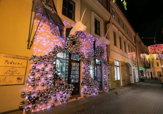 Slider vilnius christmas decorations