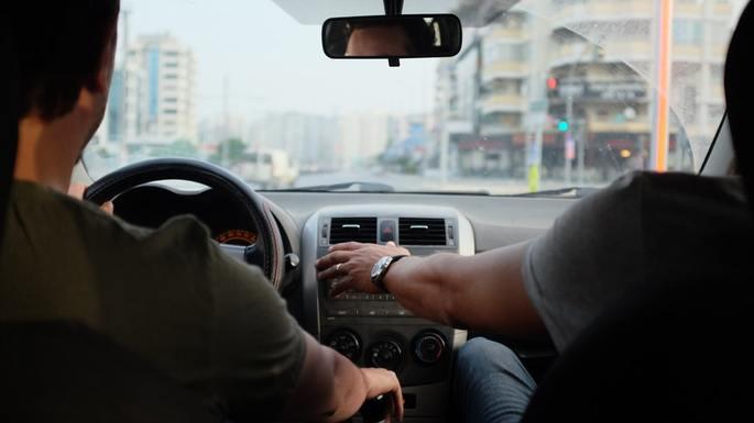 Slider driving lesson