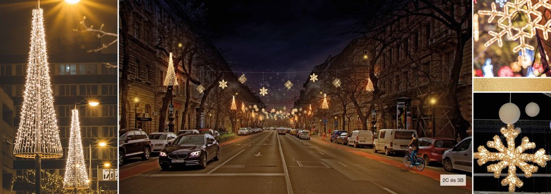Slider budapest 2020 christmas decorations