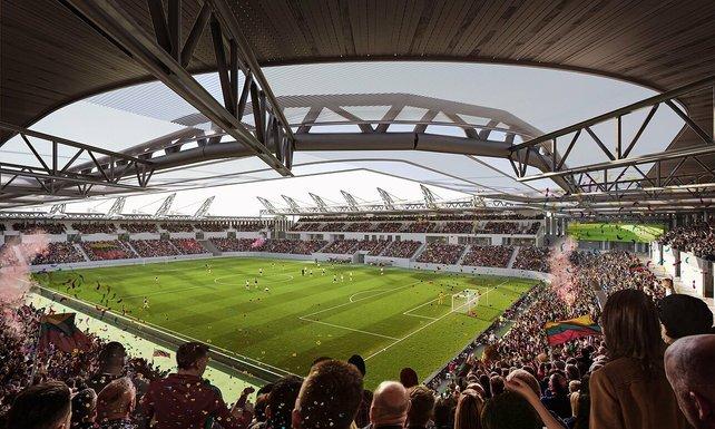 Slider vilnius new national stadium