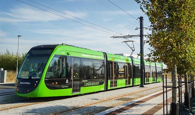 Slider lund tramway
