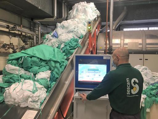 Slider albacete laundry service