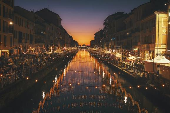 Slider christmas in milano