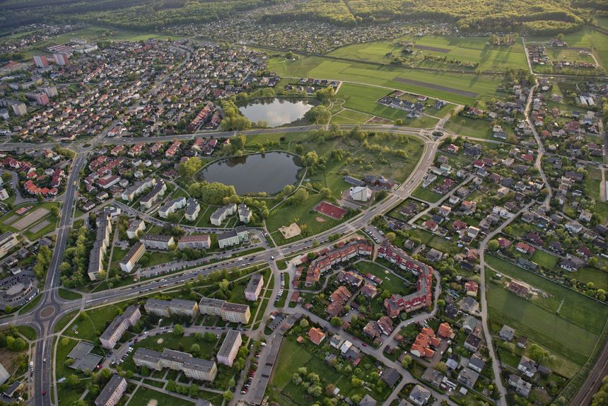 Default tychy aerial view