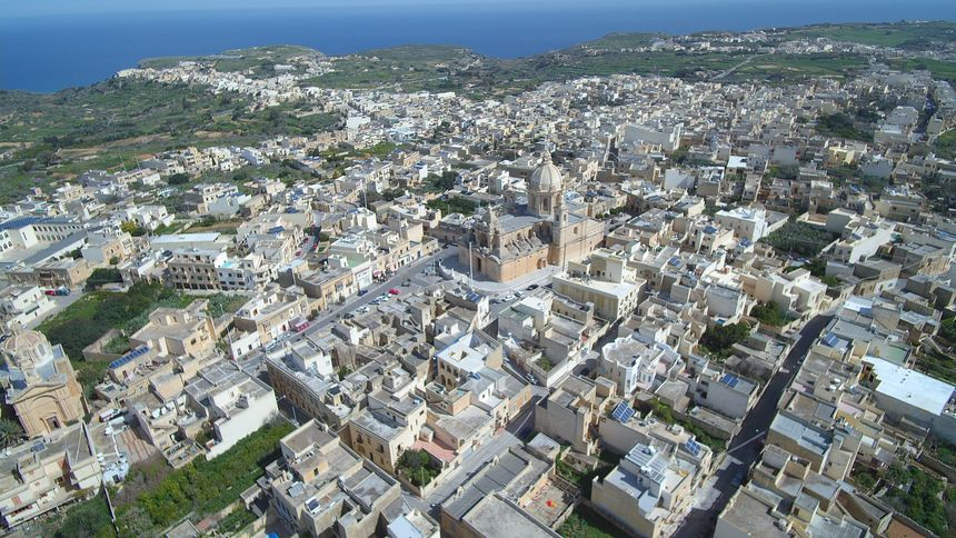 Default nadur core aerial view