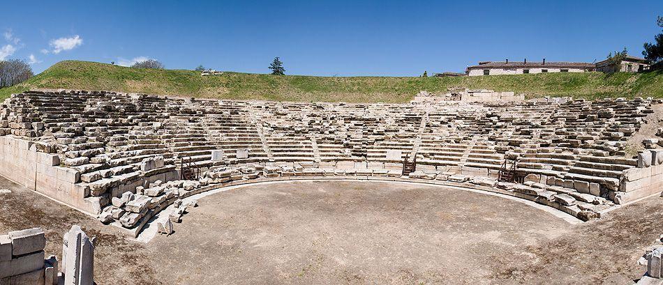 A  ancient theatre