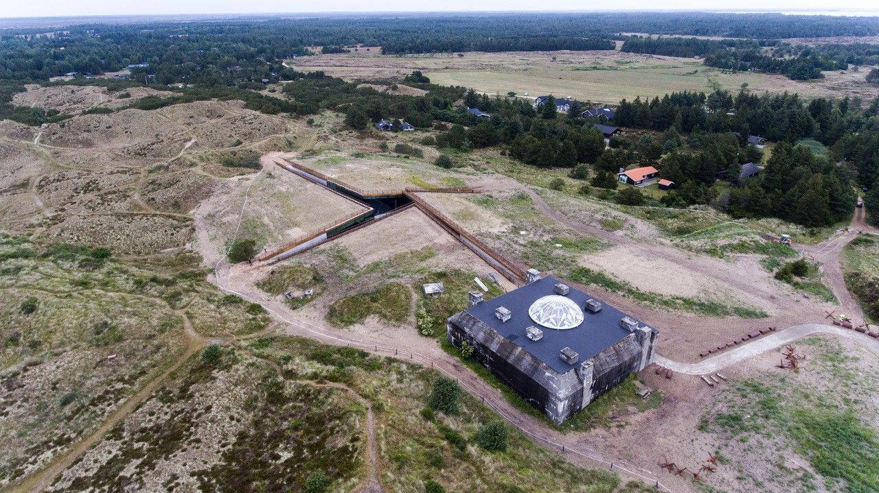 Tirpitz   an international renowned museum hidden under the dunes of the danish west coast