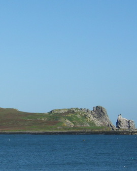 Ireland s eye from howth harbour
