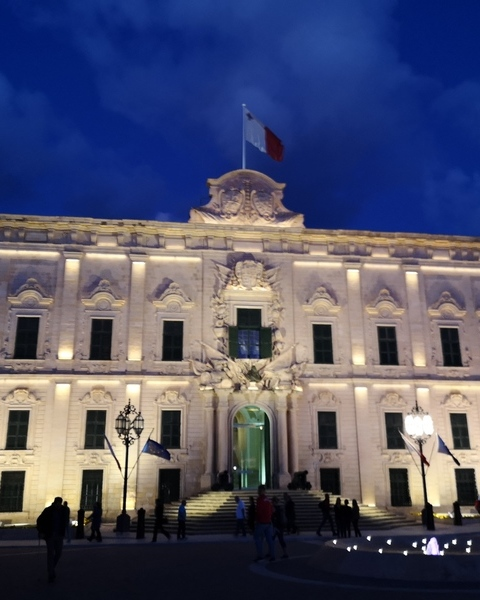 Auberge of castille at night