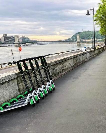 Lime eu cities4people first electric scooters budapest 2