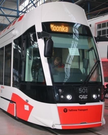 Tallinn caf tram