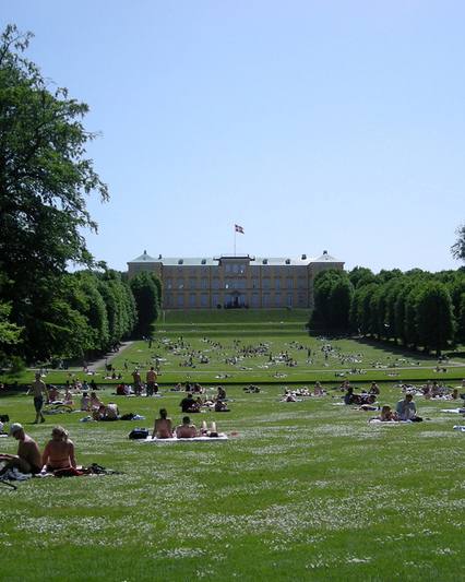 Frederiksberg have   palace