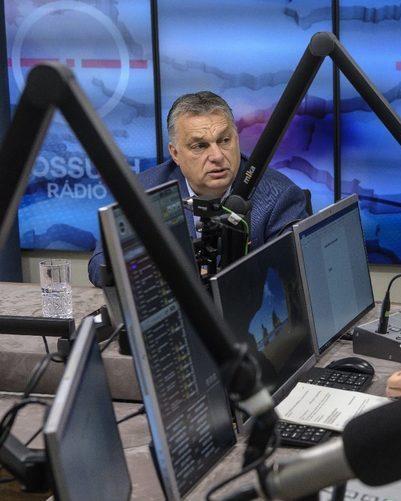 Orban interviewed on kossuth radio