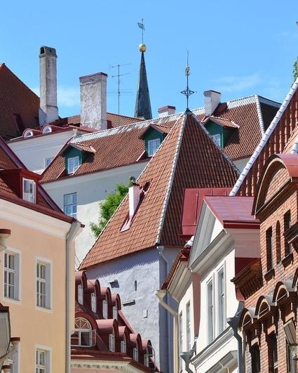 Tallinn architecture landscape