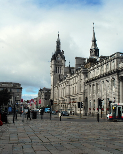 Aberdeen  scotland the square