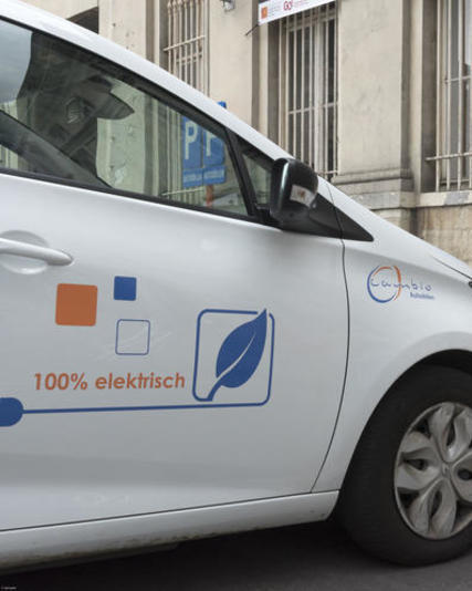 Ghent city car sharing