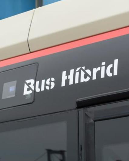 Bus hibrid tmb logo