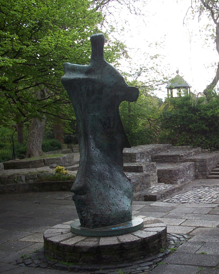 Dublin   st stephen s green   yeats memorial