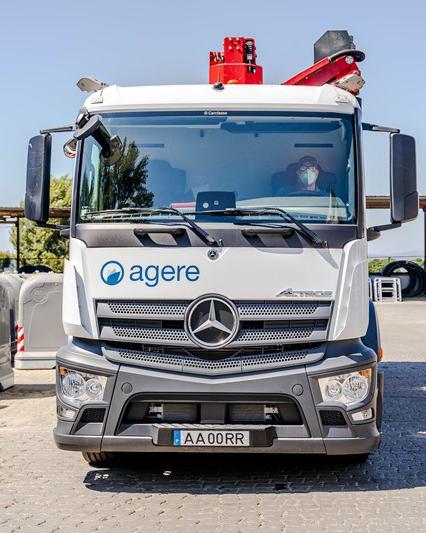 Braga waste truck