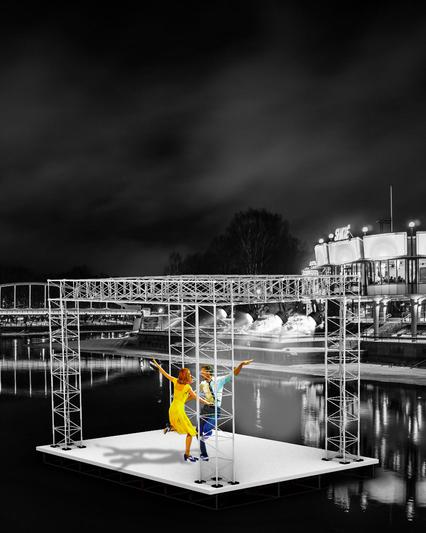 Tartu   floating stage