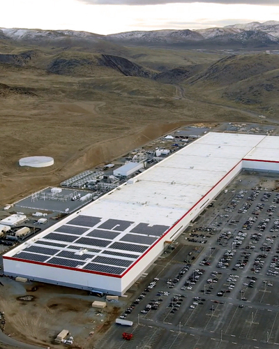 Tesla gigafactory 1   december 2019