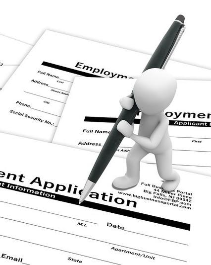 Job application forms
