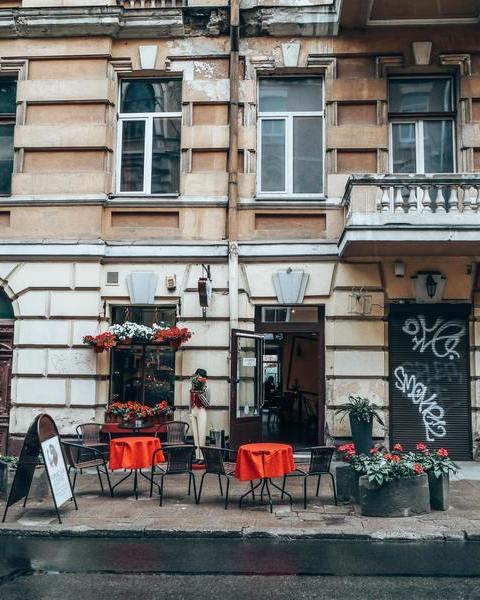 Vilnius  empty restaurant