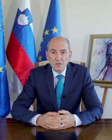 Prime minister janez jan%c5%a1a. author kabinet predsednika vlade