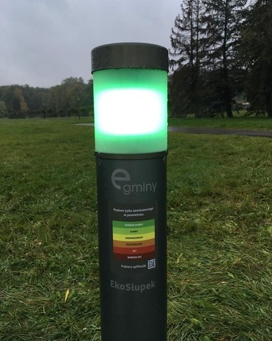Air quality meter off   park slaski on twitter  2