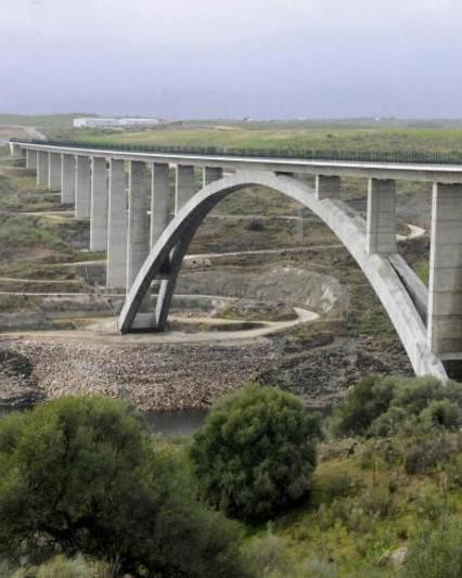 High speed railway line in spain