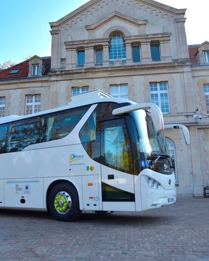 Electric bus drancy   front   aude lagarde