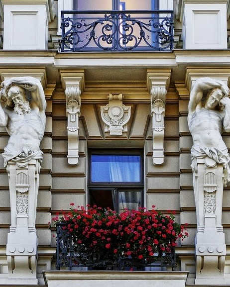 Facade in riga
