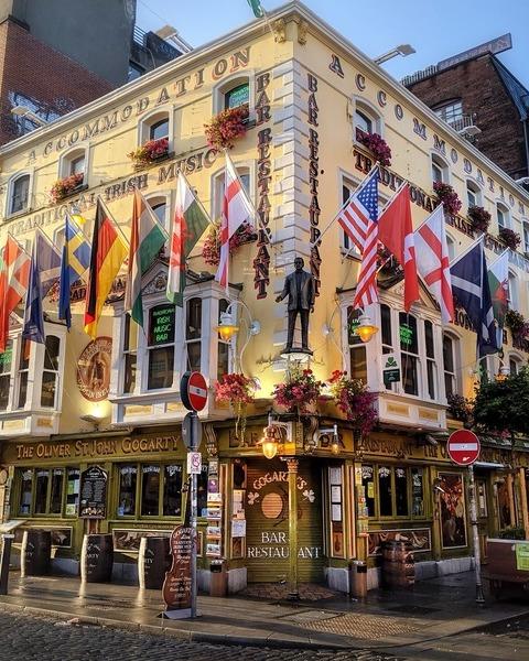 Dublin hotel restaurant