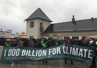 Thumb climate march