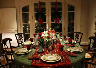 Thumb christmas dinner setting austin mcgee on wikimedia