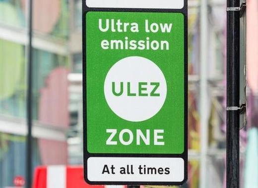 Medium ulez sign 2x1