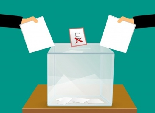 Medium vote voting voting ballot box
