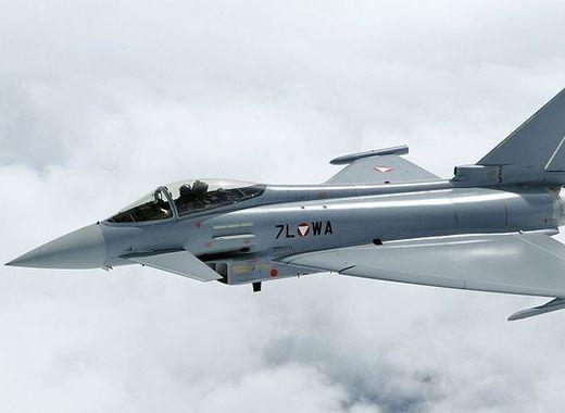 Medium eurofighter typhoon aut