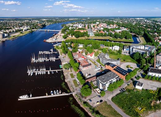 Medium p%c3%a4rnu kesklinn   aerial photo of p%c3%a4rnu in estonia