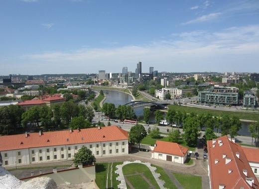 Medium vilnius city panorama baltic europe lithuania 443447