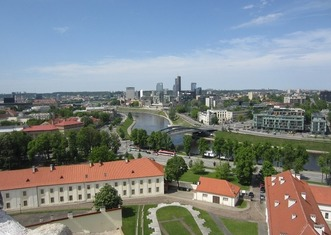 Thumb vilnius city panorama baltic europe lithuania 443447
