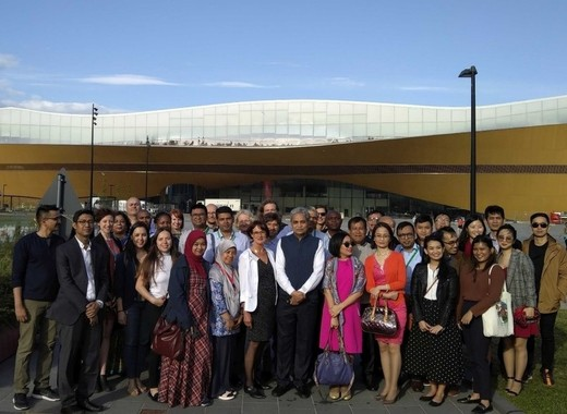 Medium international city delegation participating in the urban leds ii project study trip