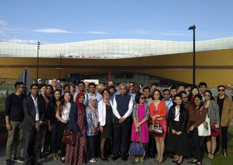 Thumb international city delegation participating in the urban leds ii project study trip
