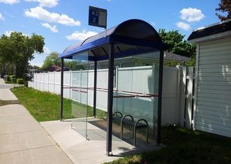 Thumb bus stop