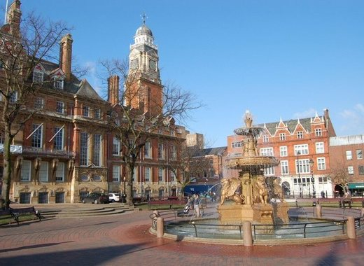 Medium leicester town hall