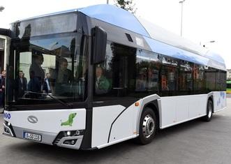 Thumb hydrogen power bus poznan