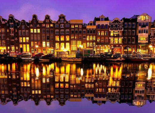 Medium amsterdam night
