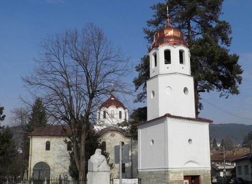 Medium orthodox church nativity of mary elena bulgaria